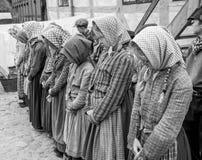 Meninas punidas - espetáculo Fotos de Stock Royalty Free