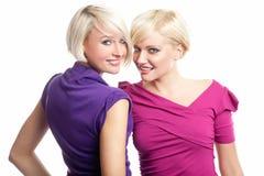 Meninas que têm o divertimento imagens de stock royalty free