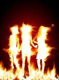 Meninas quentes ilustração do vetor