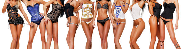 Meninas quentes Imagens de Stock