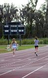 Meninas Running Fotos de Stock