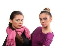 Meninas 'sexy' bonitas Fotografia de Stock Royalty Free