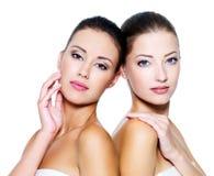 Meninas 'sexy' bonitas do reboque Fotos de Stock Royalty Free