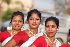 Meninas tradicionais fotografia de stock