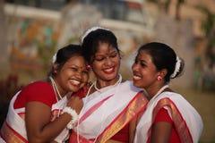 Meninas tradicionais Imagem de Stock Royalty Free