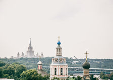 MeningÂÂ van de stad Stock Foto