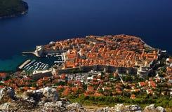 Mening 13 van Dubrovnik Royalty-vrije Stock Afbeelding