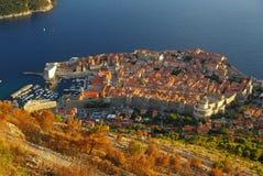 Mening 34 van Dubrovnik Royalty-vrije Stock Fotografie