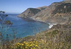 Mening aan Bixby Brug Californië Royalty-vrije Stock Foto