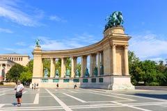 Mening aan Boedapest op 25 Juli, 2014 Stock Foto's