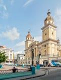Mening aan Catedral Nuestra Senora de la Asuncion Stock Fotografie