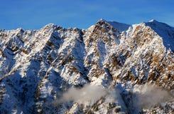 Mening aan de Bergen van Snowbird skitoevlucht in Utah, de V.S. Royalty-vrije Stock Foto