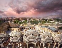 Mening aan de Oude stad van Jaipur royalty-vrije stock fotografie