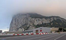 Mening aan de rots van Gibraltar Stock Foto