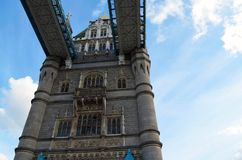 Mening aan de voetgangen van de Torenbrug Stock Afbeelding