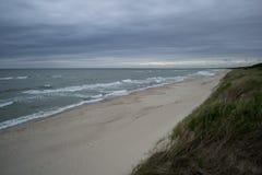 Mening aan Oostzee van het curonian spit Royalty-vrije Stock Afbeelding