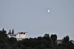 Mening aan Paleis van Generalife Granada, Spanje stock afbeeldingen