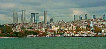 Mening aan Stambul-torens royalty-vrije stock afbeeldingen