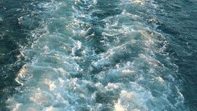 Mening bij het overzees van het Jacht die zich snel bewegen