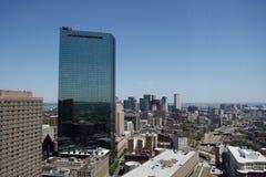 Mening de van de binnenstad van Boston Royalty-vrije Stock Foto's