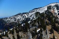 Mening dichtbij Kasberg-heuvel Stock Afbeelding