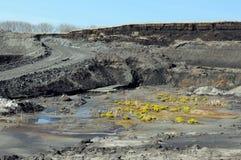 Mening in een kolenmijn royalty-vrije stock foto's