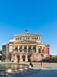 Mening om het Huis van de Opera te herbouwen Royalty-vrije Stock Afbeeldingen