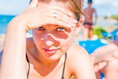 Mening op een zonnige dag Royalty-vrije Stock Afbeeldingen
