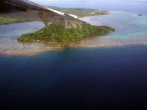 Mening op Fiji Stock Afbeelding
