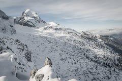 Mening over Alpspitz Royalty-vrije Stock Afbeeldingen