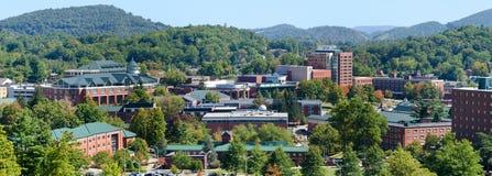 Mening over Appalachian Universiteit van de Staat Stock Afbeelding