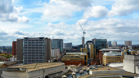 Mening over Birmingham Engeland royalty-vrije stock foto