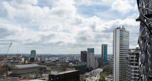 Mening over Birmingham Engeland Royalty-vrije Stock Foto's