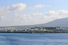 Mening over Blanca Playa royalty-vrije stock afbeeldingen