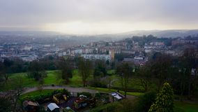 Mening over Bristol From Cabot Tower Royalty-vrije Stock Fotografie