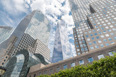 Mening over Brookfield Place in New York Stock Foto's