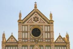 Mening over de Basiliek in Florence, Italië royalty-vrije stock afbeeldingen