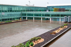 Mening over de moderne bouw van prat luchthaven Barcelona-Gr Royalty-vrije Stock Afbeelding