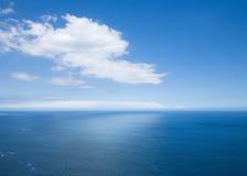 Mening over de oceaan Royalty-vrije Stock Afbeeldingen