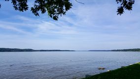 Mening over de Potomac Rivier Stock Fotografie