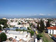 Mening over de stad van Salta Royalty-vrije Stock Afbeeldingen