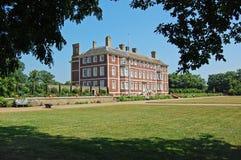 Mening over de tuinen naar het Huis van de Ham Royalty-vrije Stock Foto's