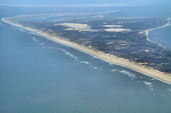 Mening over Duits eiland Sylt stock foto