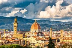 Mening over Florence royalty-vrije stock fotografie