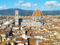 Mening over Florence, Italië Stock Foto