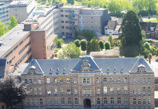 Mening over Hasselt, België Royalty-vrije Stock Foto's
