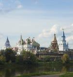 Mening over het Kremlin in Izmailovo Stock Afbeeldingen