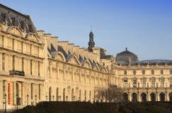 Mening over het Louvre 14 Maart, 2012 in Parijs, Frankrijk Stock Afbeeldingen