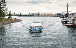 Mening over historisch centrum van Heilige Petersburg, Rusland Royalty-vrije Stock Afbeeldingen