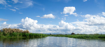 Mening over Inle-Meer Stock Foto